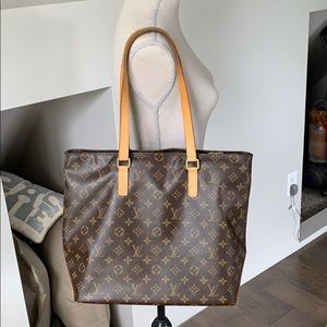 Authentic Louis Vuitton Monogram Canvas Mezzo Tote